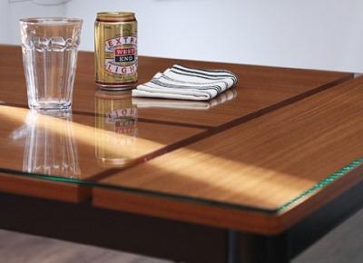 カフェスタイルダイニング【TRUNQ】トランクのテーブル天板