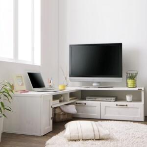 テレビボード【Fanni】ファンニ ホワイト