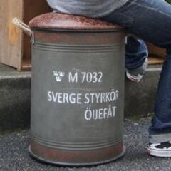ドラム缶チェアーレプリカ新品L