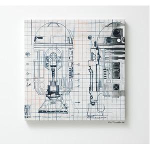 スミノエ スターウォーズ ファブリックパネル R2-D2 M906L 41×41cm