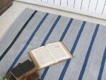 インドコットンシェニール手織りラグ