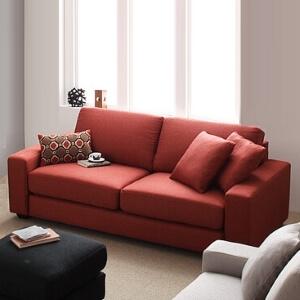 赤いソファ【LeJOY】リジョイ