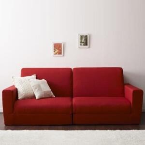 赤いソファーベッド【Loiseau】ロワゾ