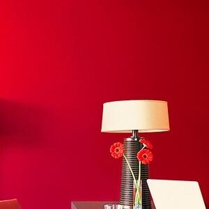 リメイクシート/シール式壁紙 レッド