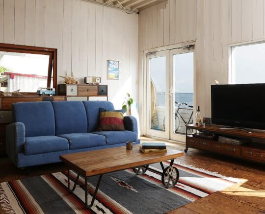 西海岸スタイルヴィンテージデザイン家具