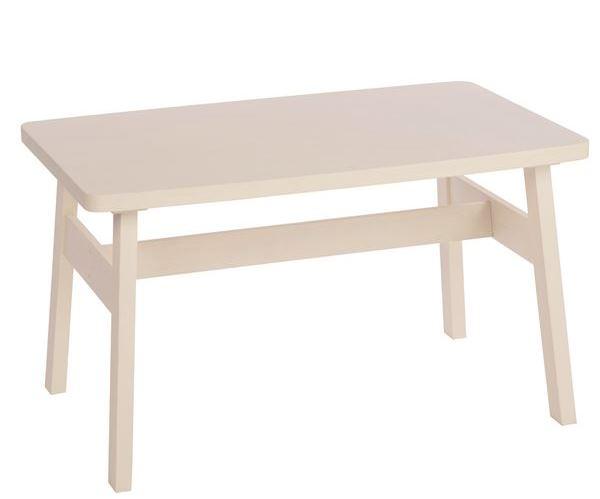 木製ホワイトテーブル
