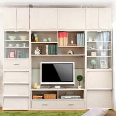 組み合わせて壁面収納もできる収納家具