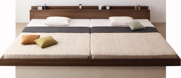 家族で寝られるベッド
