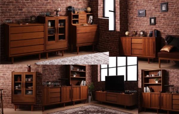 リビング収納シリーズ家具