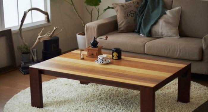 カリフォルニアスタイルローテーブル