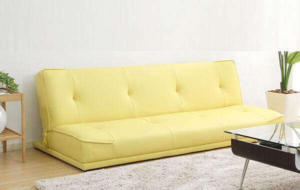 黄色いソファーベッド『Legend』