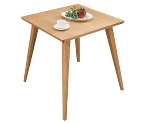 天然木ダイニングテーブル ナチュラル65