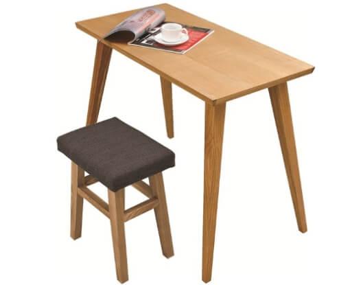 天然木ダイニングテーブル ナチュラル90