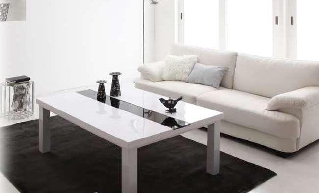 鏡面仕上げこたつテーブル【VADIT】バディット