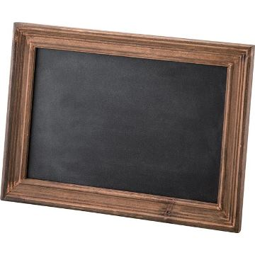 木製スタンドブラックボード黒板