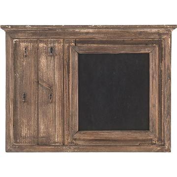 木製ウォールブラックボード黒板