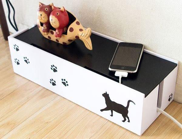 猫のケーブルボックス