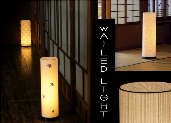 LEDコードレス和風照明