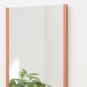 割れない鏡の縁レッド