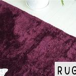紫-パープルのラグ