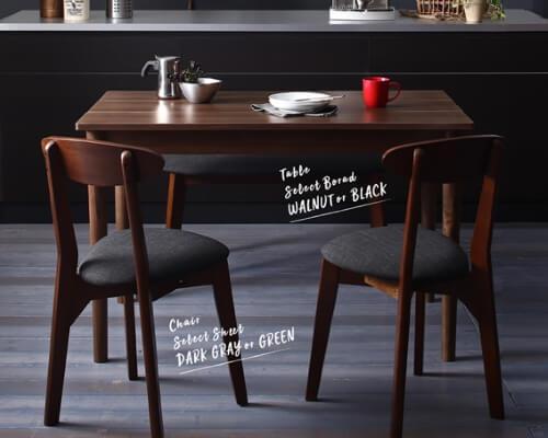 ヴィンテージ風コンパクトダイニングテーブル【Mumford】マムフォード