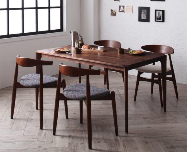 北欧デザイナーズ ウォールナットダイニングテーブル【Spremate】シュプリメイト