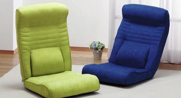 腰に優しい座椅子