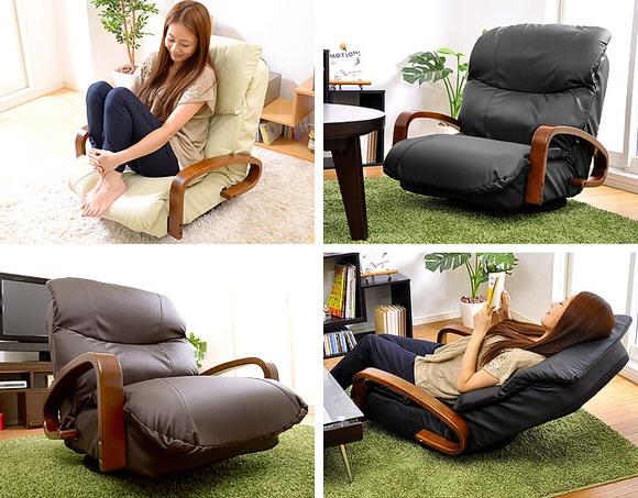 回転式リクライニング座椅子【MEISA】メイサ