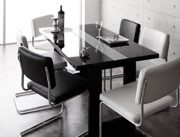 モノトーンのダイニングテーブル【Vermut】ヴェルムト
