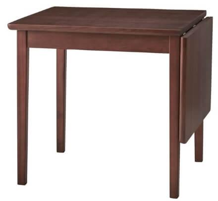 伸長式ウォールナットダイニングテーブル 通常幅