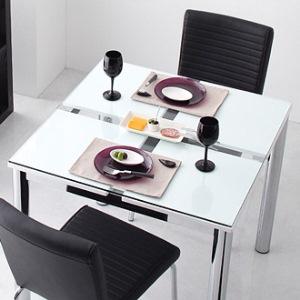 テーブル 幅80cm ガラスデザインダイニング【De modera】ディ・モデラ