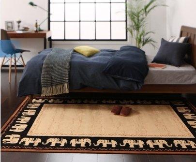 モケット織りデザインラグ【Farsi】ファーシ