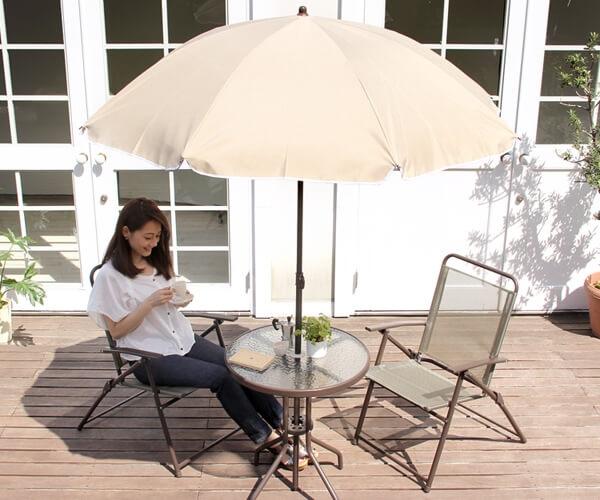 ガーデンテーブル4点セット【ORTO4】オルト4