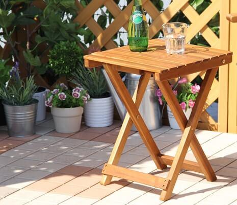 折りたたみサイドテーブル【PARS】パルス
