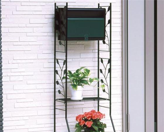 スチール製ガーデンポスト