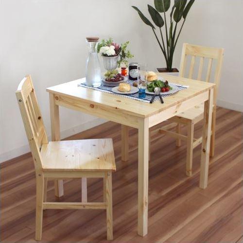 北欧風パイン材ダイニングテーブル『パイン』