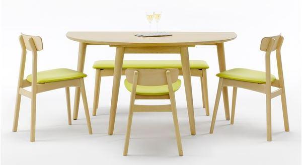 半円形ダイニングテーブル【BOSCO+PLUS】ボスコプラス ナチュラル