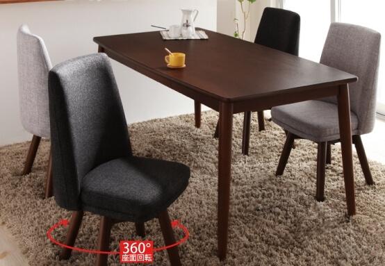 北欧デザインダイニングテーブル【Cura】クーラ