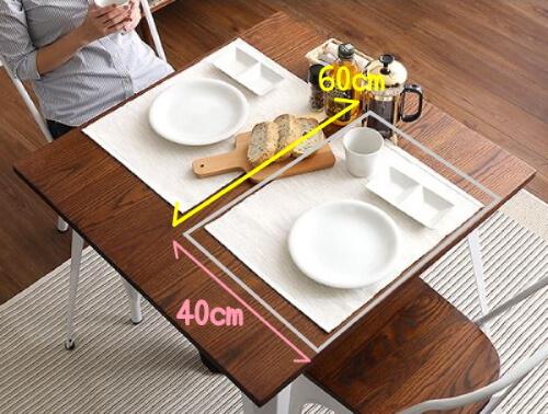 食事をする際に必要な1人分のスペース