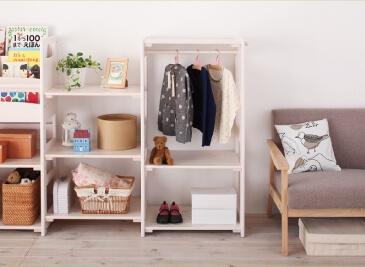 天然木シンプルデザインキッズ家具シリーズ【Primaria】プリマリア ホワイト