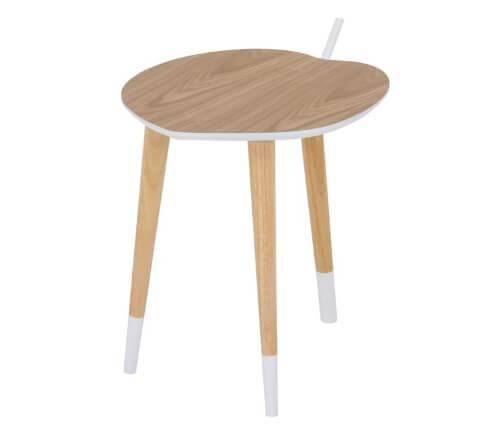 リンゴ型サイドテーブル