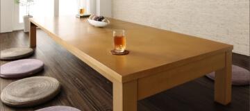 伸長式ローテーブル【PANOOR】パノール