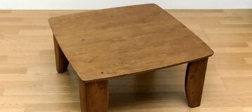 浮造りローテーブル