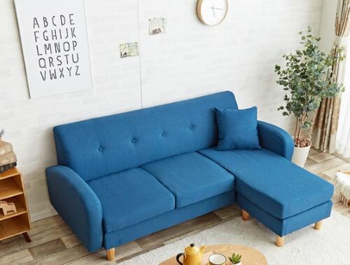 ブルーのソファ【SPICA】スピカ