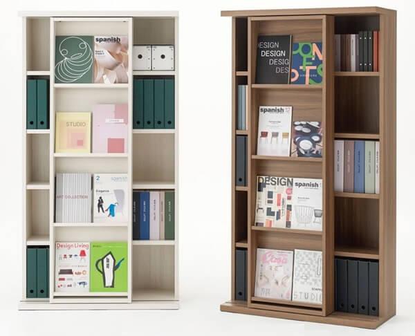 フナモコ 雑誌スタンド付き収納書棚