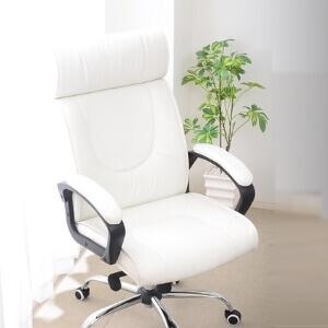 オフィスチェア【Empress】エンプレス ホワイト