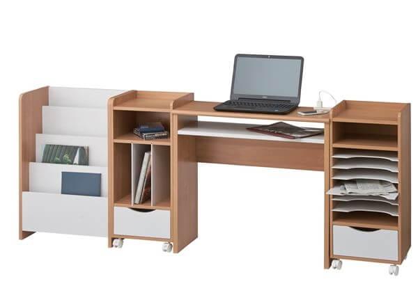デスクと収納のシリーズ家具 ココナ
