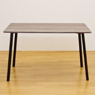ダイニングテーブル木目調 SIMPLE ダークブラウン