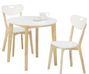 ラウンドダイニングテーブル【COPAIN】コパン ホワイト