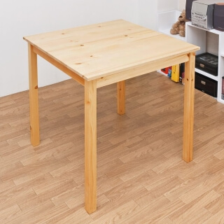 パイン材ダイニングテーブル ナチュラル